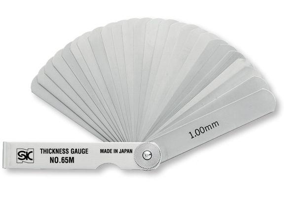 Bộ căn lá đo khe hở 0.04-3.00mm 12 lá, CS-150MT