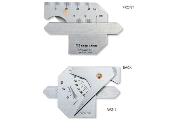 Thước đo mối hàn 0-3mm WG-1(M) niigataseiki, WG-1(M)