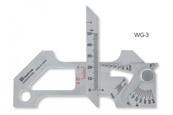 Thước đo mối hàn 0.5-5mm WG-3 niigataseiki, WG-3