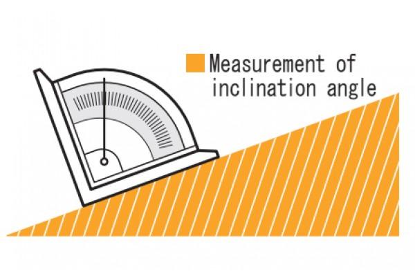 Thiết bị đo góc 0-90º loại có từ Niigataseiki, LM-90KD