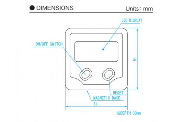 Thiết bị đo góc điện tử 0-180º Niigataseiki, BB-180