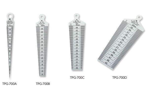 Thước đo khe hở 15-30mm niigataseiki, TPG-700B