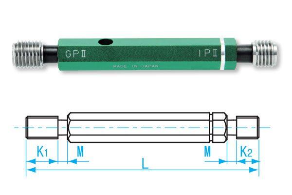 Dưỡng đo ren trong M12x1.75-GPIP II, GPIP2-12175