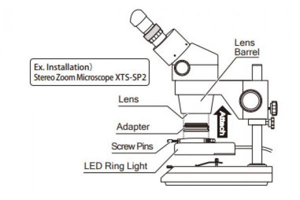 Đèn Led cho kính hiển vi NiigataSeiki, L-48D