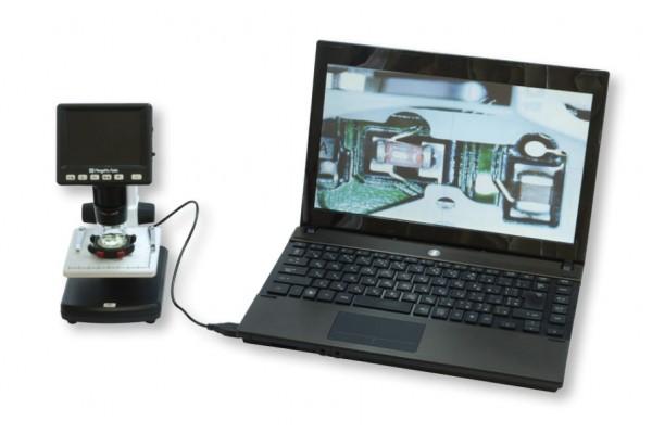 Kính hiển vi điện tử có màn hình LCD NiigataSeiki, MMS-500LCD