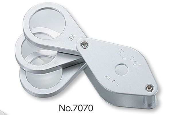 Kính lúp 3x-4x-5x kiểu gấp NiigataSeiki, No.7070