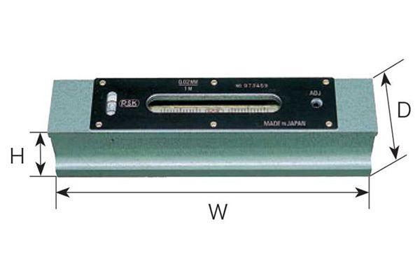Li vô thanh 150mm độ nhạy 0.05mm/m RSK NiigataSeiki, 541-1505