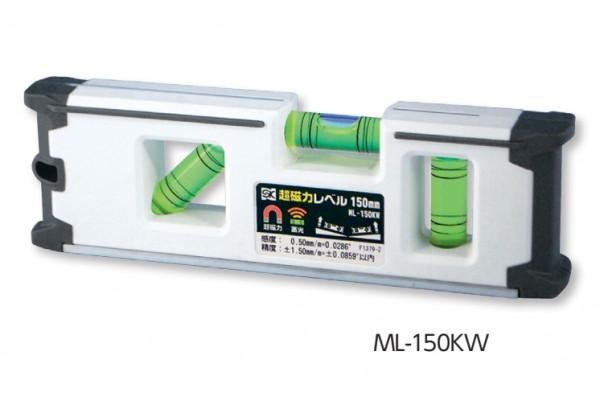 Thước thủy Mini  màu trắng có từ ML-100KW
