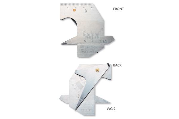 Thước đo mối hàn 0-5mm WG-2(L) niigataseiki, WG-2(L)