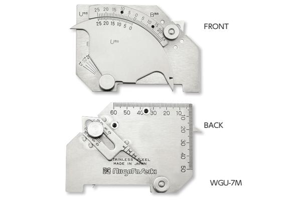 Thước đo mối hàn 2-5mm niigataseiki, WGU-7M