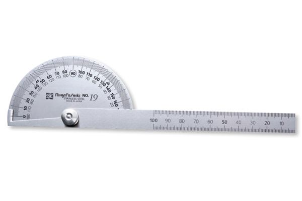 Dưỡng đo góc bán nguyệt 0-180º Niigataseiki, PRT-19S