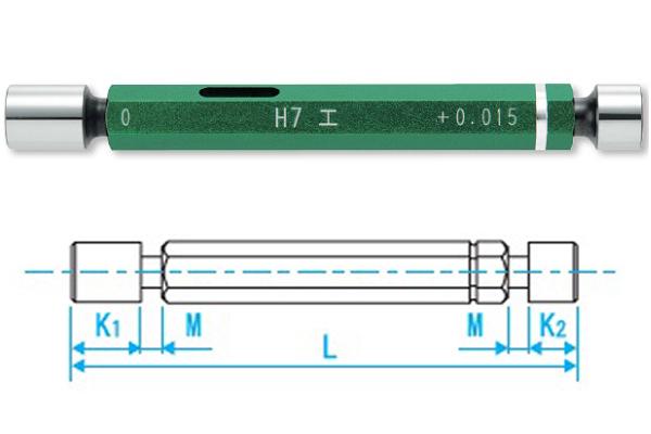 Trục chuẩn Go-Nogo LP11-H7